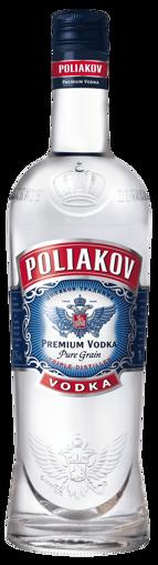 Afbeeldingen van POLIAKOV VODKA 37,5° 70CL