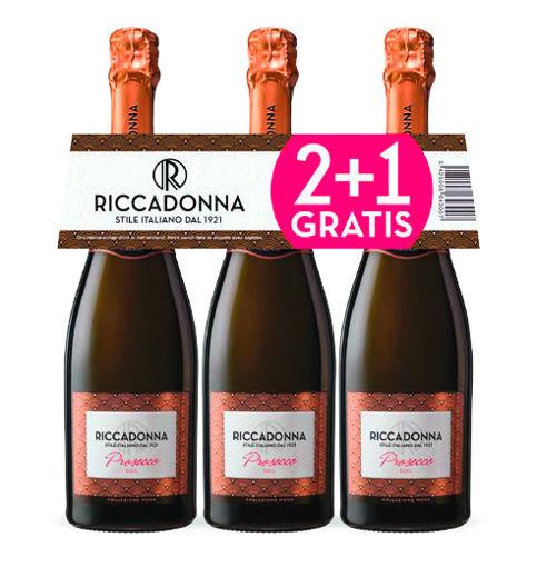 Afbeeldingen van RICCADONNA PROSECCO (2+1 GRATIS)X75CL